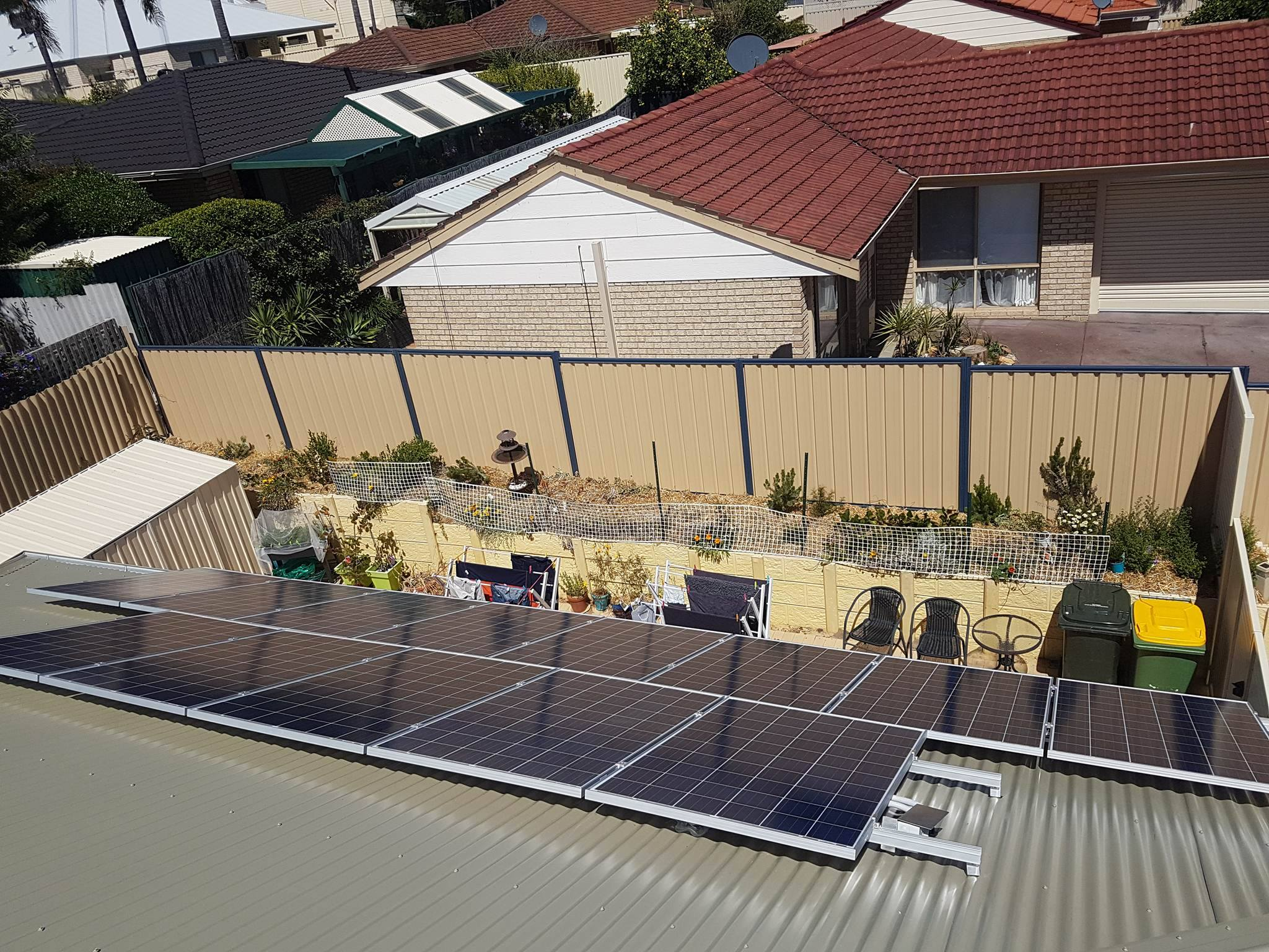 ELECTRICAL WORK AT PERTH SOLAR
